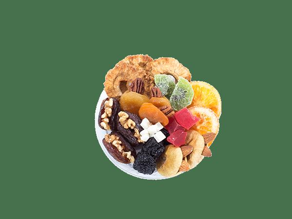 מגש פירות יבשים
